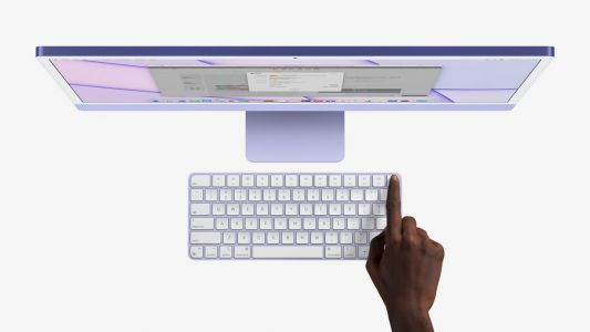 Apple's Brand New iMac Also Comes With A Touch ID Enabled Keyboard