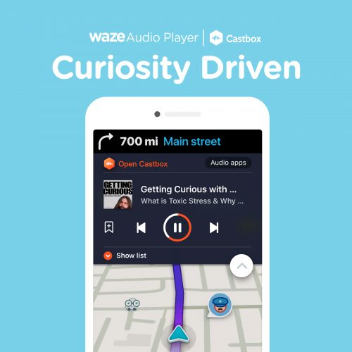 Now Waze Includes Podcasts Thanks To CastBox Integration