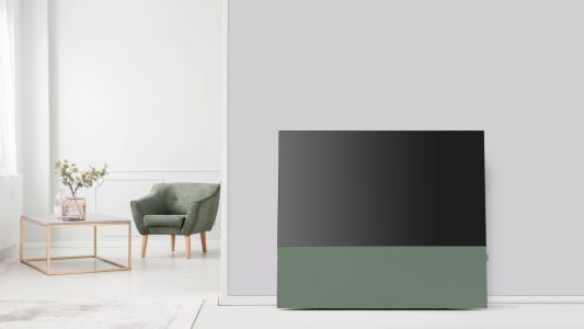 This huge speaker decks out your LG OLED TV with a wall of sound