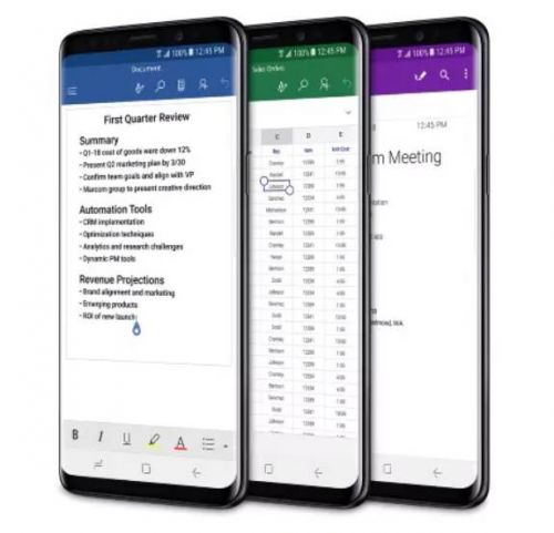 Microsoft's Samsung Galaxy S9, S9+ Now Available For Pre-Order