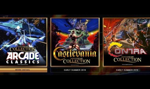 Konami is bringing Castlevania and Contra to consoles
