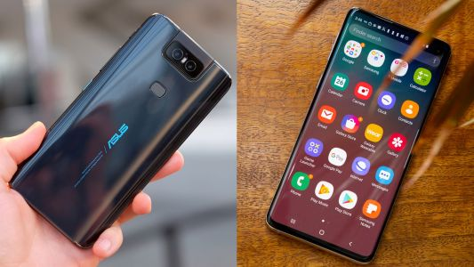 Asus ZenFone 6 vs Samsung Galaxy S10: a flipping camera or a punch-hole display
