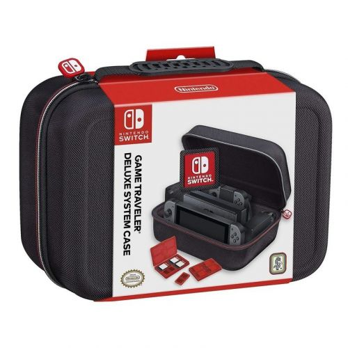 Bring along your Nintendo Switch with this deluxe case on sale under $29