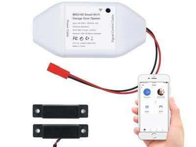 Use this $38 accessory to add voice control and smarts to your garage door