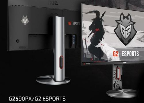 AOC G2590PX G2 Esports Signature Edition FreeSync monitor offers 144Hz refresh rate