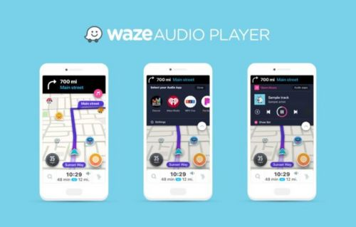 Waze Audio Player Feature Added To The App