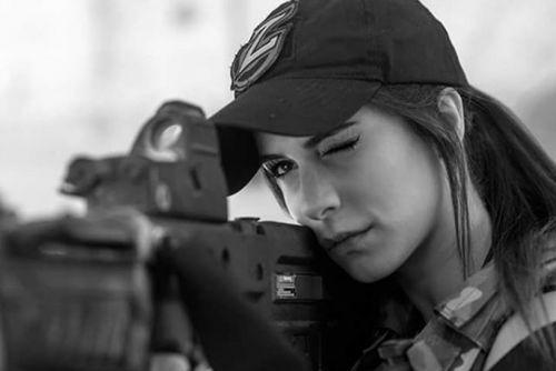 Meet Orin Julie, IDF Veteran, Instagram Star, and Firearm Model