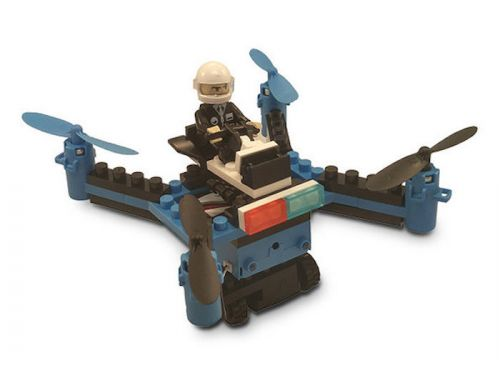 Get the awesome Force Flyers DIY Building Block Drone