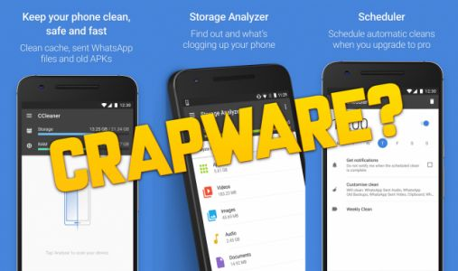 Popular app CCleaner could be turning into crapware