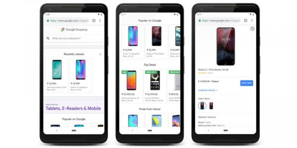 Google testing its new personalized Shopping homepage in France