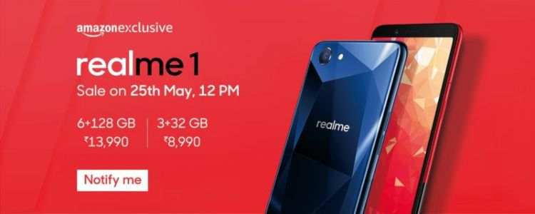 OPPO Realme 1 Unveiled In India With 8GB Of RAM, Android 8.1