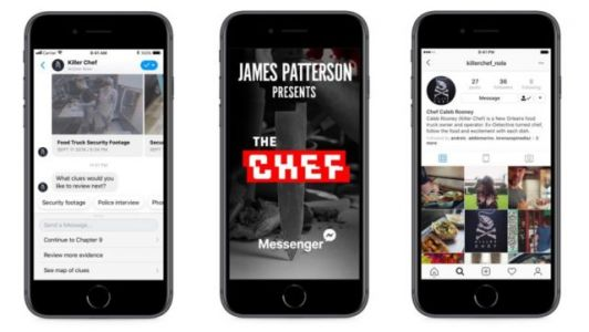 Author James Patterson Will Preview New Book Via Facebook Messenger