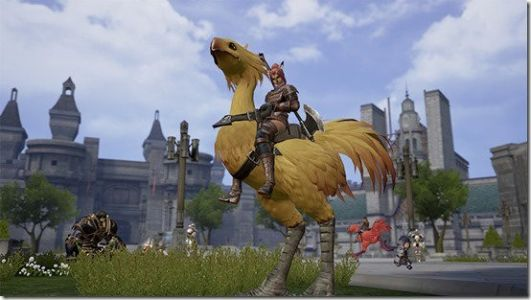 New Final Fantasy XI Mobile Screenshots Published Online