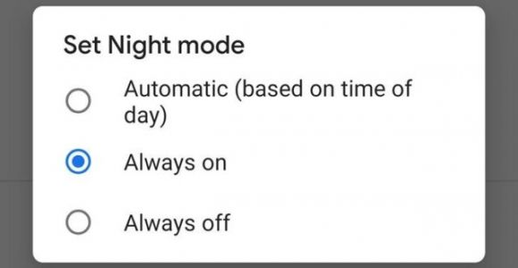 Android Update Forces 'Night Mode' When Battery Saver Is Enabled