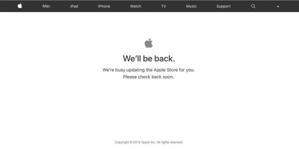 Apple's higher education website down, possible Back to School deal on the way