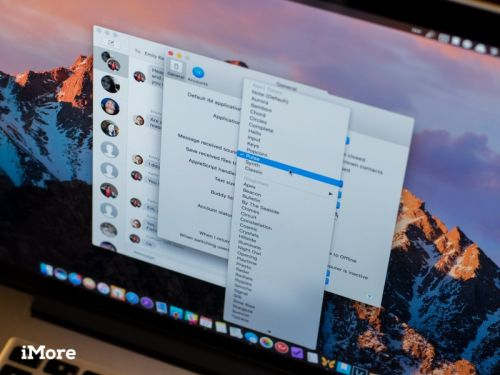 How to adjust the settings of Messages for Mac