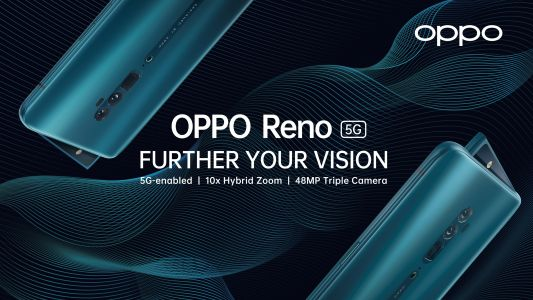 Go beyond the connectivity with Reno 5G available now at EE
