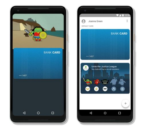 Google Adds DC Comics-Inspired Bugdroids To Android Pay