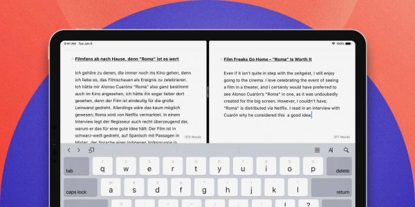 Ulysses writing app update bringing full-featured side-by-side editor to iPad and improved blog integration