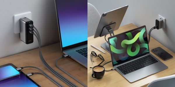 Satechi launches GaN USB-C charger lineup incl. 108W 3-port model for Mac, iPhone, iPad