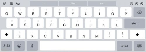 How to Use the iPad's New Flick Keyboard in iOS 11