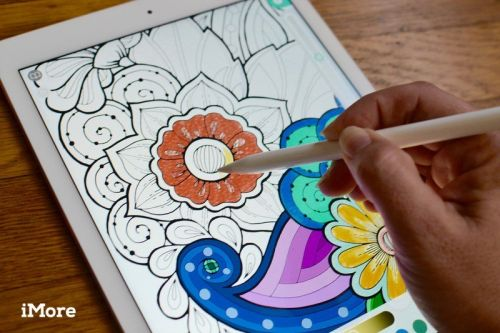 Coloring books on the iPad help you relax - here are our favorites!