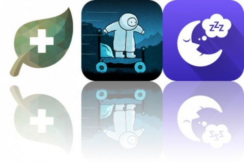 Today's Apps Gone Free: Cook + Cure, Yuri and Rain Sounds