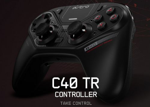 Astro C40 TR PS4 controller is easily customised using modules