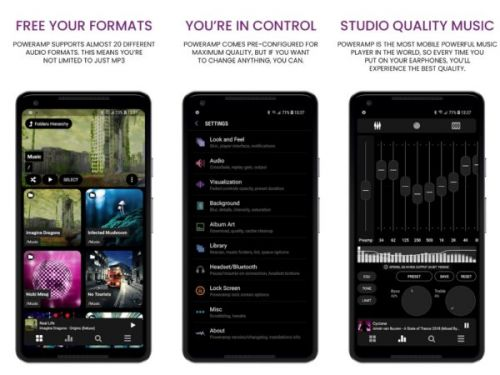 Poweramp 3.0 Brings New Audio Engines, Google Services Support & More