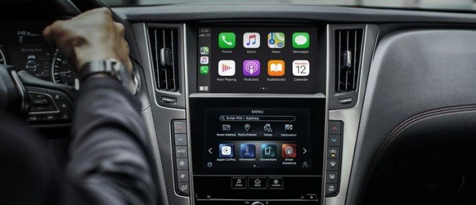 Infiniti announces free wireless CarPlay upgrades for some owners
