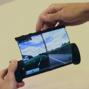 New mobile touchscreen device resembles an ancient scroll