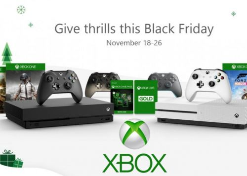 2018 Xbox Black Friday Deals offer a $100 discount on select Xbox One devices