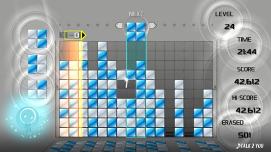 Lumines Remastered review - a classic puzzler, rough around the edges