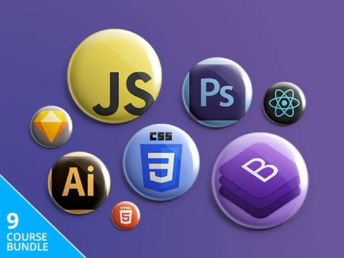Save 97% on the The Complete Front-End Developer Bundle