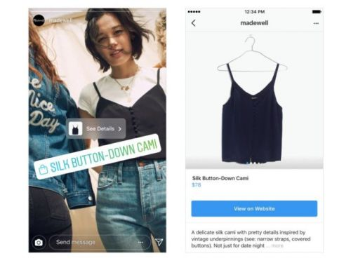 Instagram Brings Shopping Features To Stories & Explore Tab