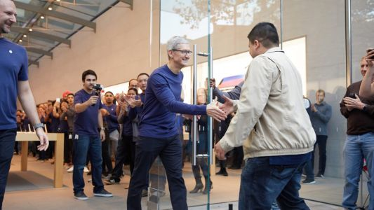 Remodeling set to begin in May at Apple's Palo Alto store, less than 6 years after opening