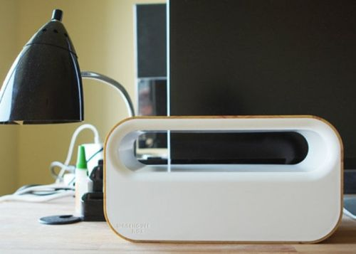 Warehouse Box wireless charger and cable tidy