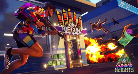 Radical Heights adds an '80s spin to Fortnite and PUBG battle royale games
