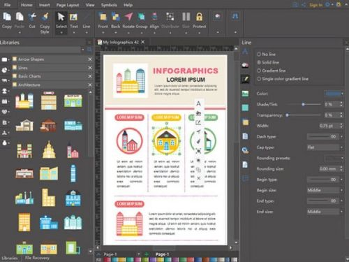 Save 54% on the Edraw Infographic Software: Perpetual License