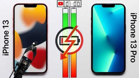 IPhone 13 vs iPhone 13 Pro battery life test