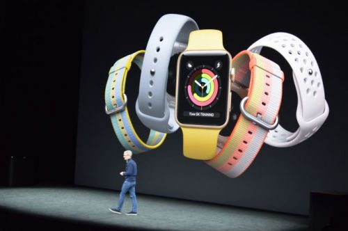 Apple 2017: Announcing a new Apple Watch Series 3, with Intel LTE/Cellular