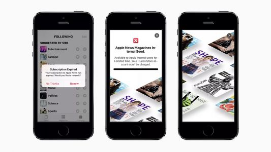 Apple's subscription-news service expected to be unveiled next month