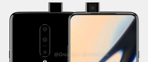 OnePlus 7 will have a pop up camera, renders reveal