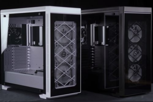 Lian Li Announces Alpha Series Mid-Tower Chassis: Tempered Glass Panels Plus RGB