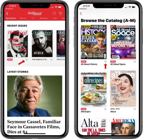 How to Download a Magazine for Offline Reading in Apple News+