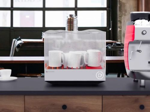This smart dishwasher is compact enough for the even the tiniest apartment