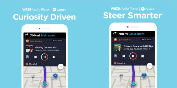 Podcast app Castbox adds Waze support in latest update
