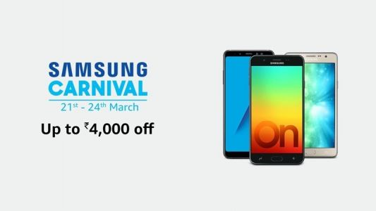 Samsung Carnival on Amazon: Up to Rs 8,000 cashback on mobile phones
