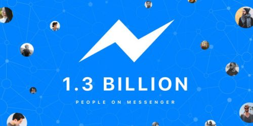 Facebook Messenger passes 1.3 billion monthly active users