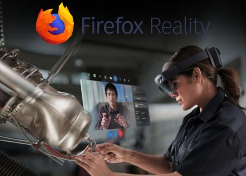 Firefox Reality web browser will be available on Microsoft HoloLens 2